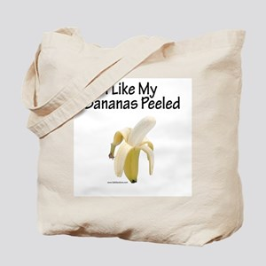 Peeled Bananas Tote Bag