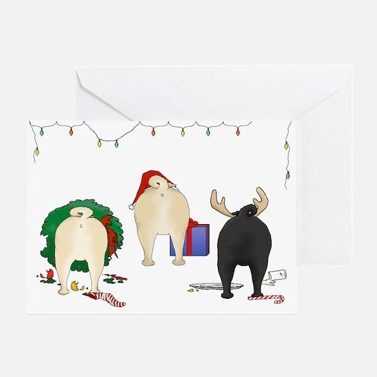 Pug Christmas Cards