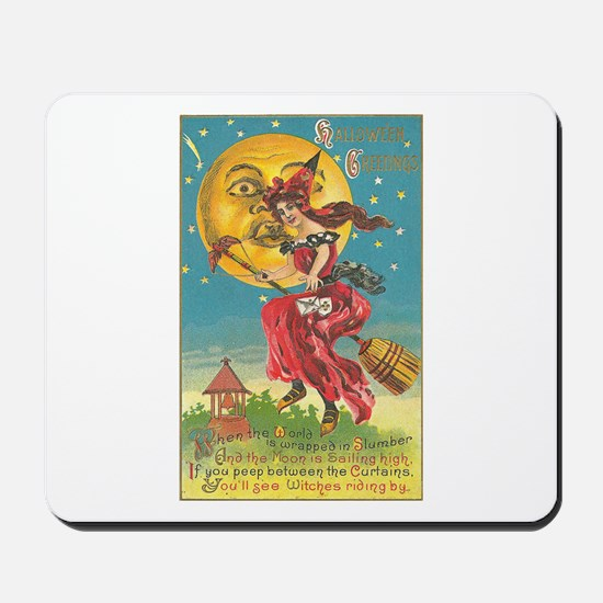 Riding Witches Mousepad