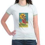 Riding Witches Jr. Ringer T-Shirt