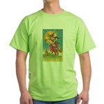 Riding Witches Green T-Shirt