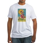 Riding Witches Fitted T-Shirt