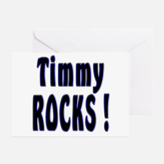 Timmy Rocks ! Greeting Cards (Pk of 10)