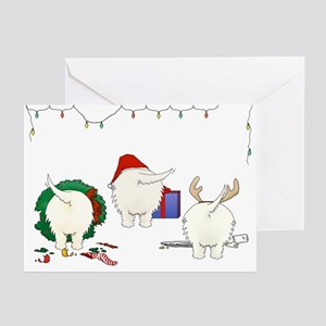 Westie Christmas Greeting Cards (Pk of 10)
