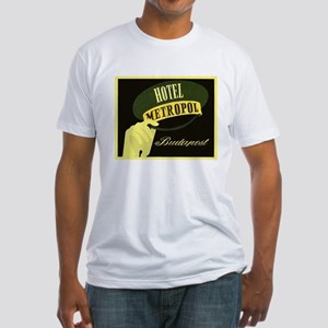 Hotel Metropol Budapest Fitted T-Shirt