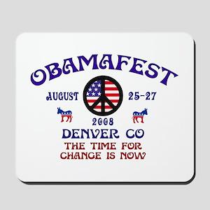 Obamafest Mousepad