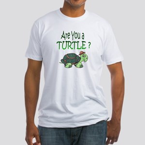 Are you a Turtle? Fitted T-Shirt