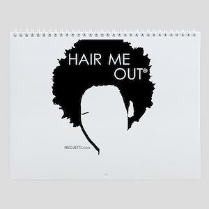 Nedjetti's Hair Me Out Hairstyles Wall Calendar