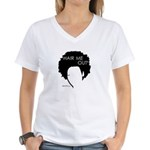 Hair Me Out Women's V-Neck T-Shirt