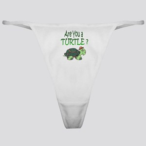 Are you a Turtle? Classic Thong