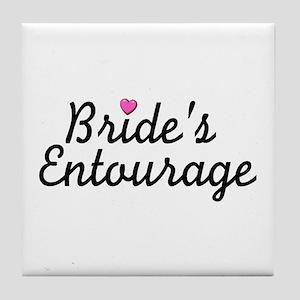 Bride's Entourage Tile Coaster