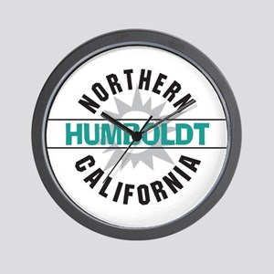 Humboldt California Wall Clock