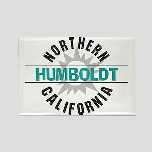 Humboldt California Rectangle Magnet
