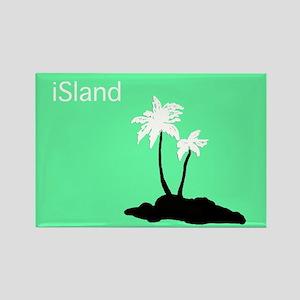 iSland Rectangle Magnet