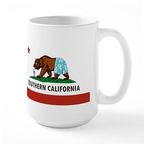 So Cal Flag Large Mug