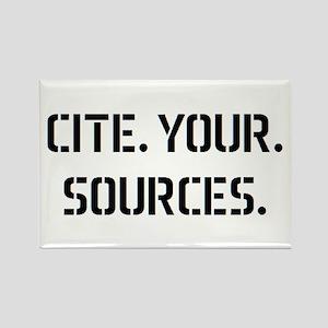 cite sources Rectangle Magnet