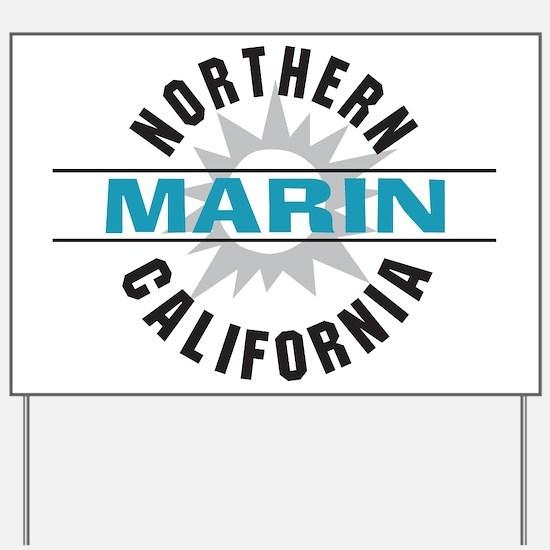 Marin California Yard Sign