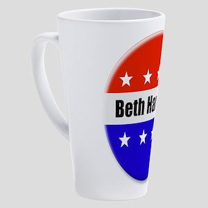 Beth Harwell 17 oz Latte Mug