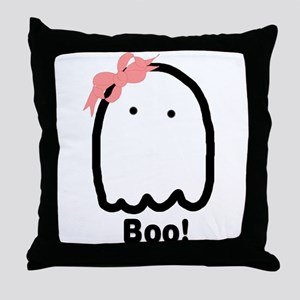 Boo! Throw Pillow