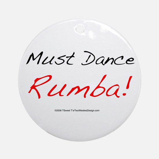 Must Dance Ornament (Round)