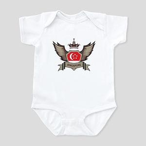 Singapore Emblem Infant Bodysuit