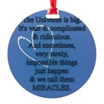 Miracles Ornament