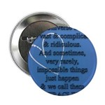 """Miracles 2.25"""" Button (10 pack)"""