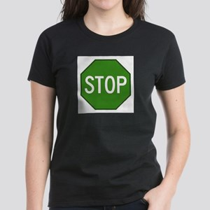 GREEN ?? Women's Dark T-Shirt
