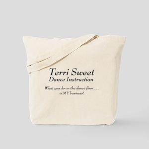 Terri Sweet Dance Tote Bag