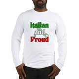 Proud be italian Long Sleeve T-shirts