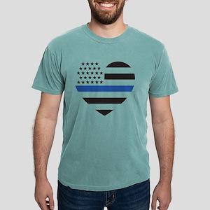 Blue Lives Matter Hear T-Shirt