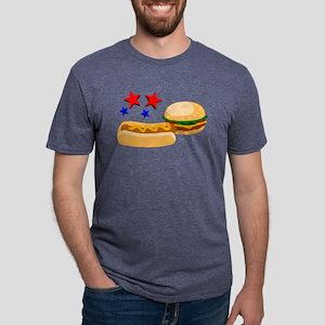 American Hot Dog and Burger T-Shirt