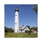 Presque Isle Lighthouse Queen Duvet