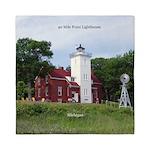 40 Mile Point Lighthouse Queen Duvet