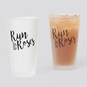The Kentucky Derby Run for the Rose Drinking Glass