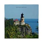 Split Rock Lighthouse Queen Duvet