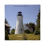 Old Presque Isle Lighthouse Queen Duvet