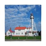 Whitefish Point Lighthouse Queen Duvet