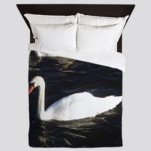Mute Swan Queen Duvet