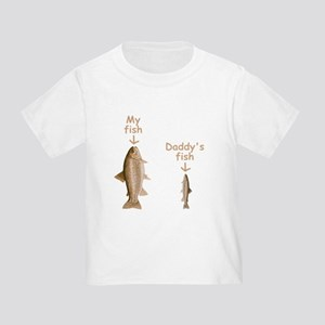 My Fish, Daddy's Fish Toddler T-Shirt