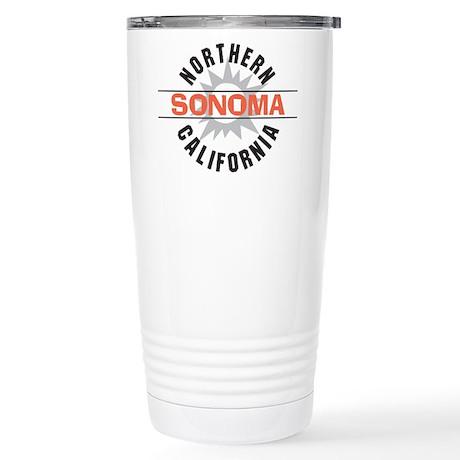 Sonoma California Stainless Steel Travel Mug