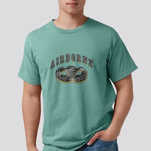 US Army Airborne Wings Silver T-Shirt