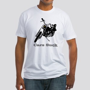 Cars Suck Fitted T-Shirt