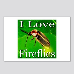 I Love Fireflies Postcards (Package of 8)