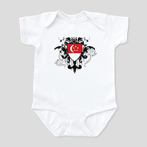 Stylish Singapore Infant Bodysuit