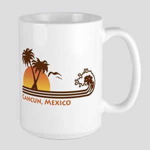 Cancun Mexico Large Mug