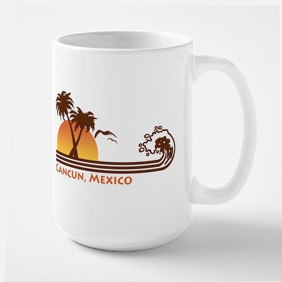 Cancun Mexico Large Mug