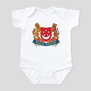 Singapore Coat Of Arms Infant Bodysuit