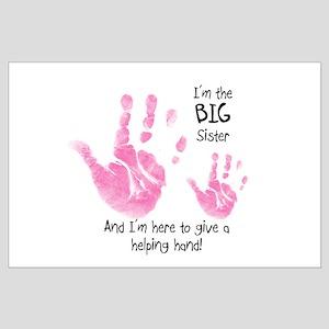 Big Sister - Hands Large Poster