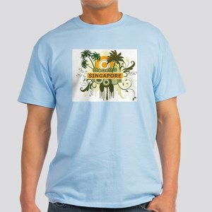 Palm Tree Singapore Light T-Shirt
